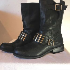 Jessica Simpson motorcycle boots